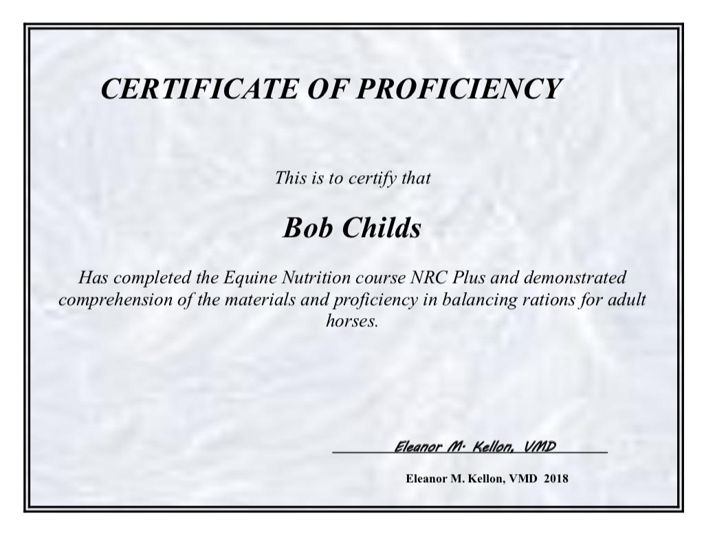 NRCPlus Certificate